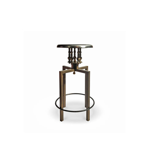 Log Cocktail Table Bronze