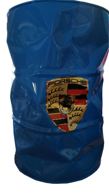 Blue Porsche Barrel, 2020