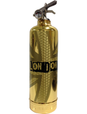 London Gold Fire Extinguisher