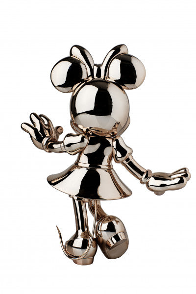 Minnie Welcome Chromed