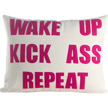 Wake Up Custom Pillow