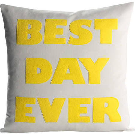 Best Day Ever Custom Pillow