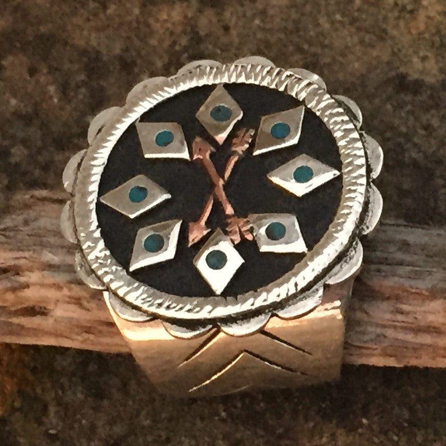 W. Indian Arrow Ring