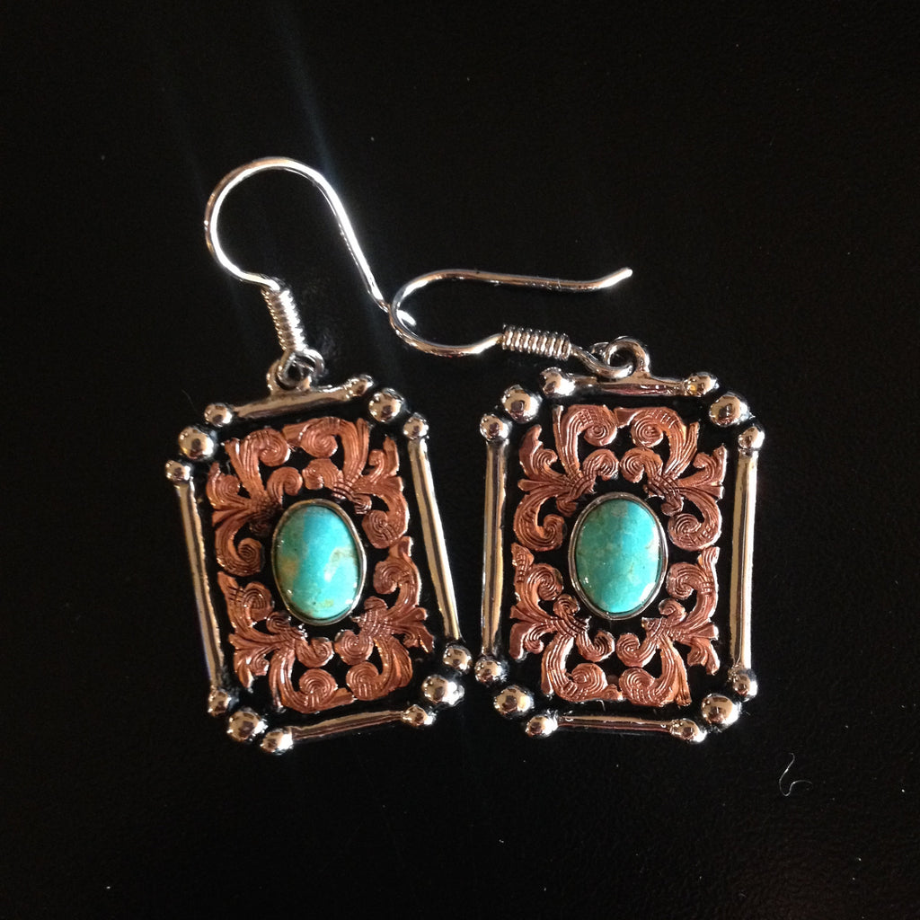 I. Turquoise Earrings