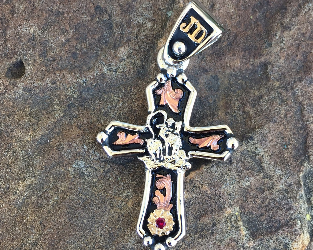 1 A. Cross Pendent