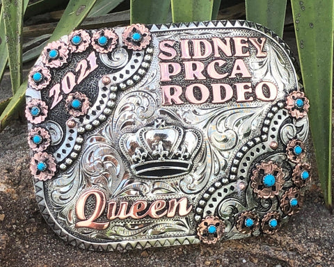Custom Queen Buckles