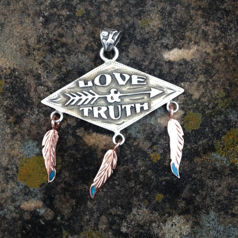 Love & Truth Pendent