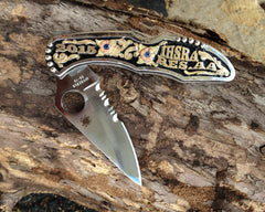 1 G. Customizable Fully Engraved Knife