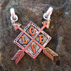 LOVE Necklace with Pendent
