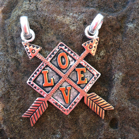 LOVE Necklace Pendent