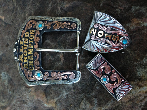 TB 21 Three piece buckle set