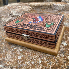 Trinket Leather Box 4.