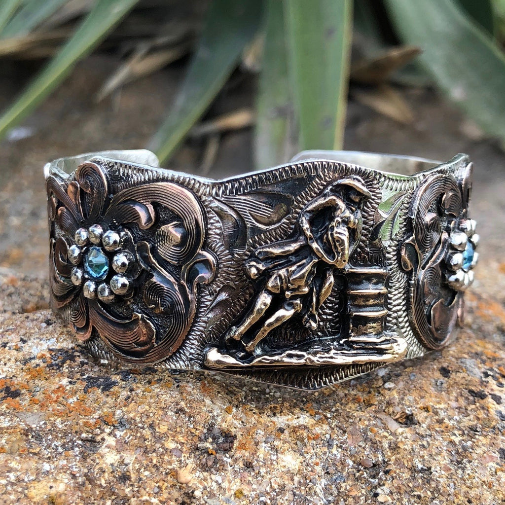 V. Barrel Racer Flower Bracelet