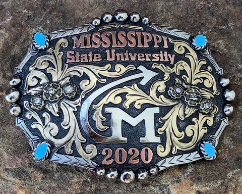 Custom Graduation Buckle #1