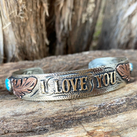 "Ab. Custom ""I love you"" Bracelet"