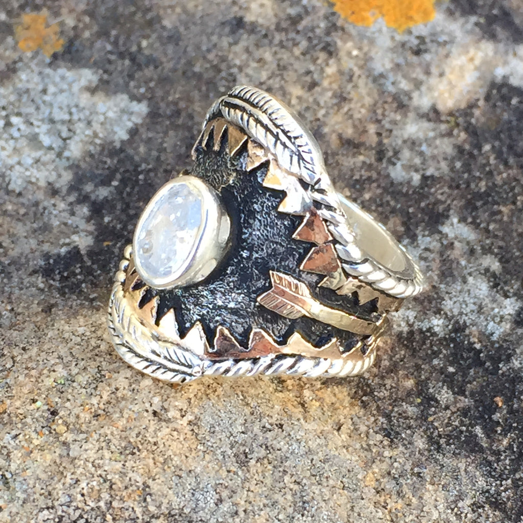 Ka. Strong & Fierce Ring