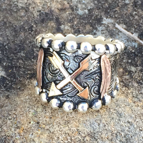 K. Antique Indian Diva Ring