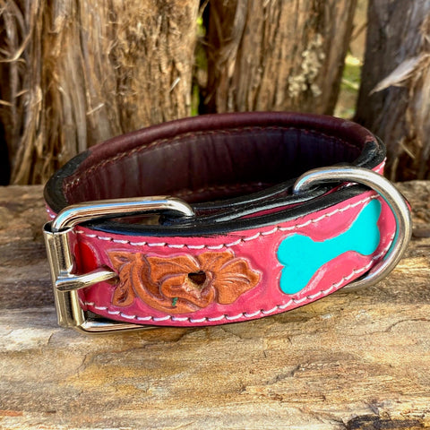 Leather Small Dog Collar