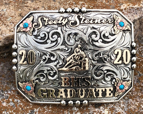 Custom Graduation Buckle #2