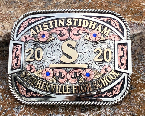 Custom Graduation Buckle #4