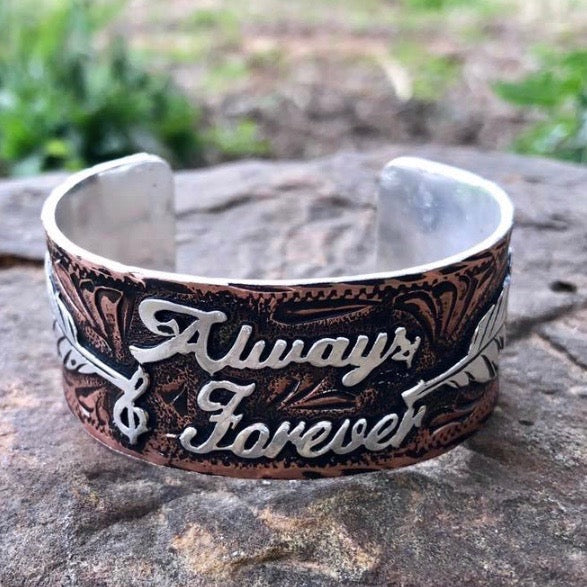 P. Always & Forever Copper Bracelet