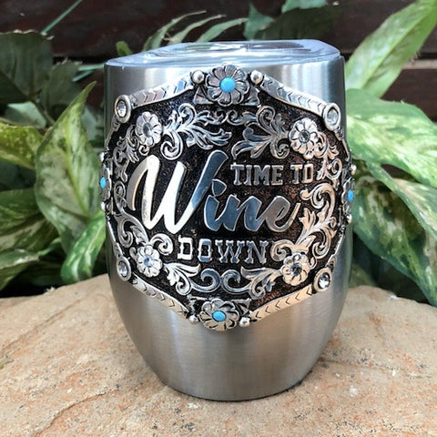 "Wine Cooler ""Time to Wine down"""