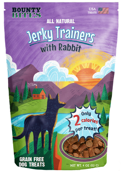 Jerky Trainers with Rabbit - Training Treats by Bounty Bites