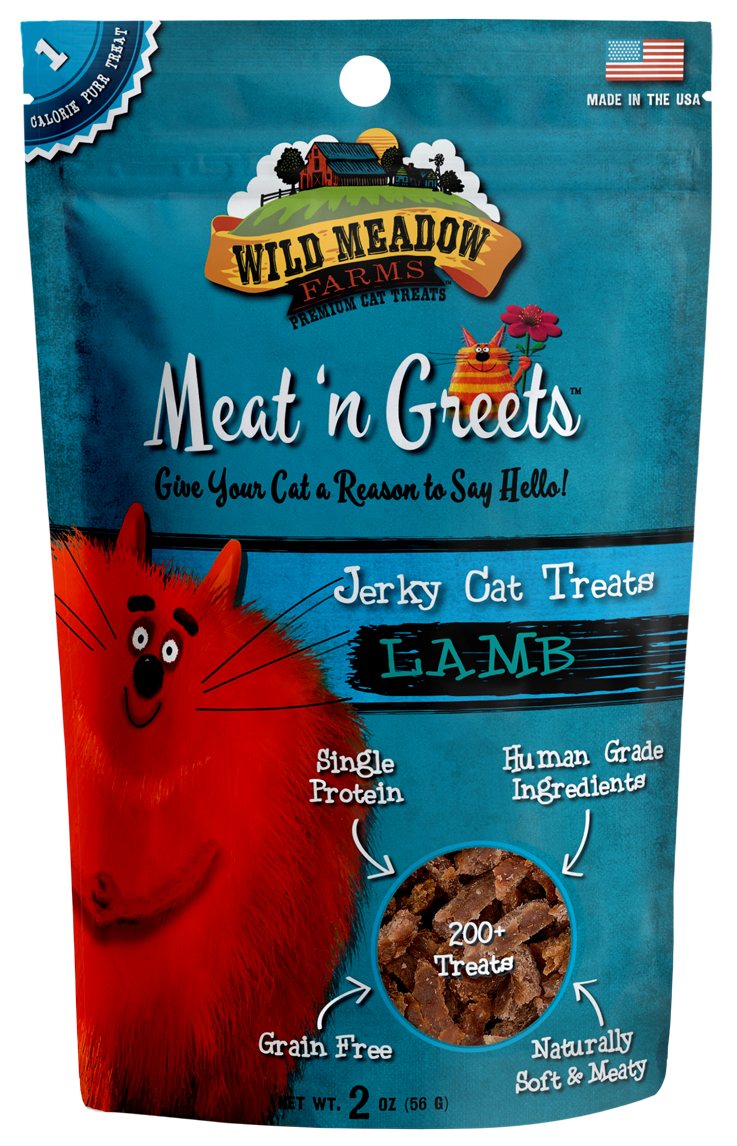 Meat 'N Greets<br/> Lamb Cat Treats