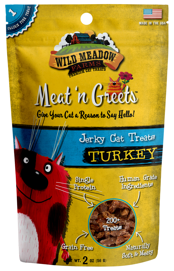 Meat 'N Greets<br/> Turkey Cat Treats