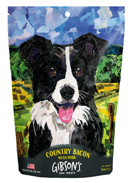 Gibson's Country Bacon with Pork - Jerky Dog Treats