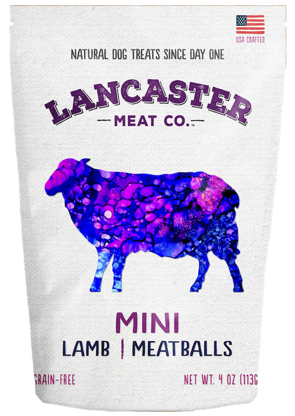 Lamb Mini-Meatballs - Dog Treats by Lancaster Meat Co