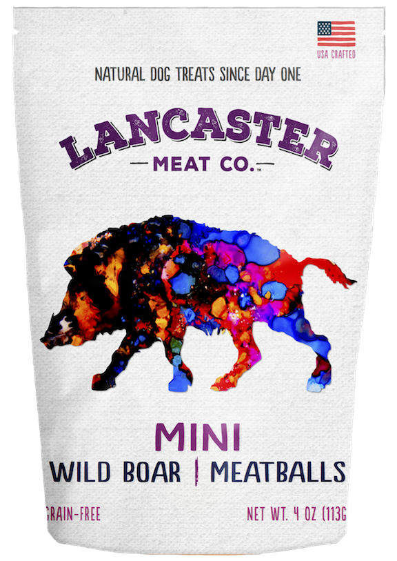 Wild Boar Mini-Meatballs - Dog Treats by Lancaster Meat Co