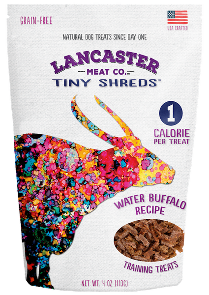 Water Buffalo Tiny Shreds - Dog Treats by Lancaster Meat Co