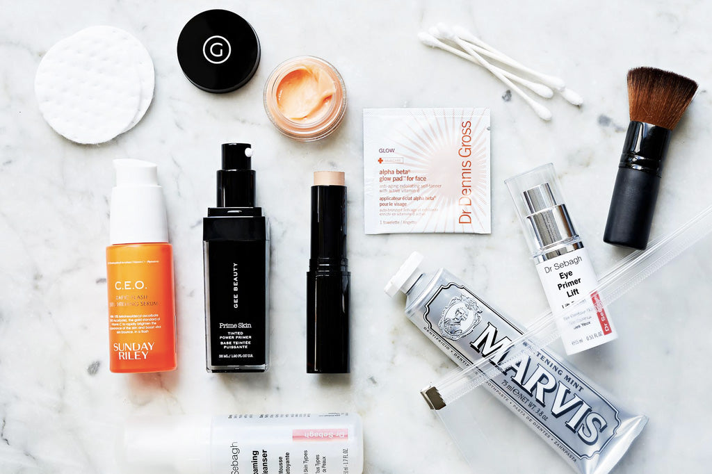 Natalie Gee's Travel Beauty Essentials