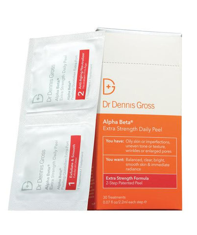 Dr. Dennis Gross Alpha Beta Extra Strength Peel available at Gee Beauty