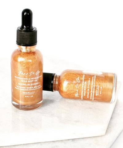 Armure Beauty - Bano de Oro - Gold Shimmering Body Oil