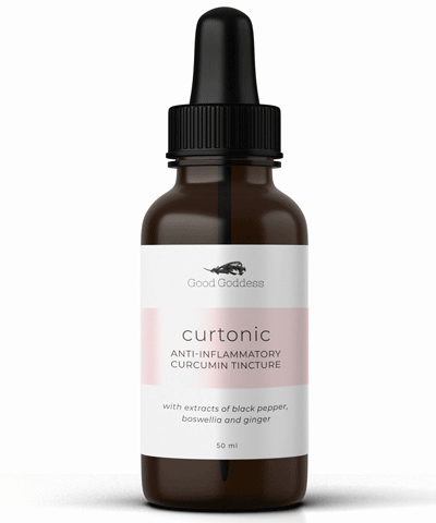 Good Goddess - Curtonic Anti-Inflammatory Turmeric Tincture