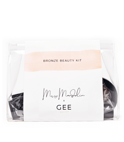 Gee Beauty - Mrs. Mandolin x Gee Beauty Bronze Beauty Kit Light