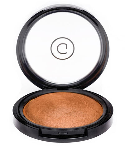 Gee Beauty Makeup - Bronzed Glow Baked Bronzing Powder