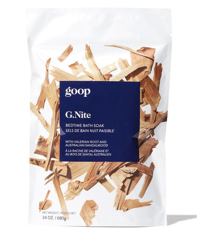 G.NITE BEDTIME BATH SOAK  with Valerian root and Australian sandalwood