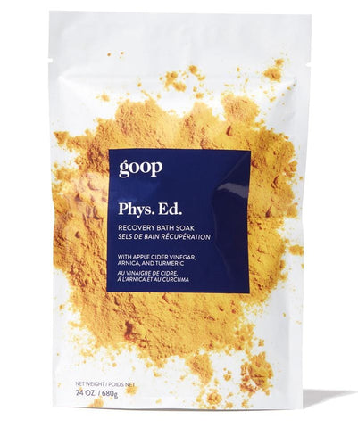 Goop - PHYS.ED RECOVERY BATH SOAK  with apple cider vinegar, arnica, and turmeric