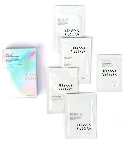 Joanna Vargas - Glow To Go Mask Set