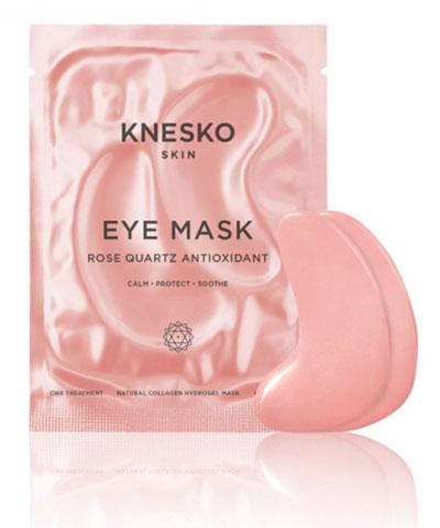 Knesko - Rose Quartz Antioxidant Eye Mask (Single Treatment)