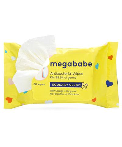 Megababe - Squeaky Clean Wipes