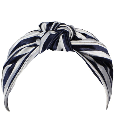 Slip - Navy Stripe Knot Headband