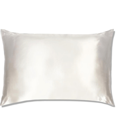 Slip - Queen Silk Pillowcase White