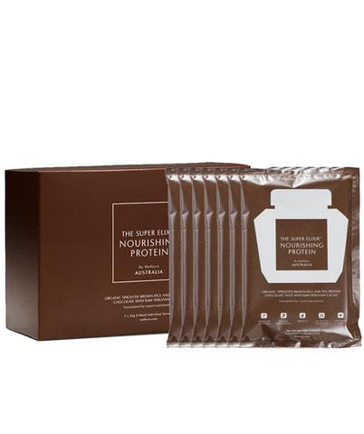 WelleCo Super Elixir - NOURISHING PLANT PROTEIN Chocolate Travel Set