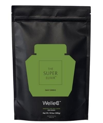 WelleCo Super Elixir - SUPER ELIXIR Greens Pineapple & Lime 300g Refill