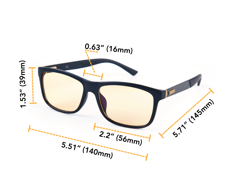 Shift Lumin night driving glasses dimensions