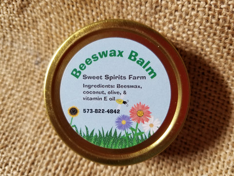Beeswax Lotion and Moisturizer Tin